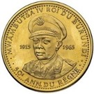 100 Francs  - Mwambutsa IV (50th Anniversary) – obverse