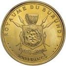 100 Francs  - Mwambutsa IV (50th Anniversary) – reverse
