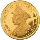 10 Francs  - Mwambutsa IV (Independence) – obverse