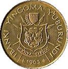 1 Franc - Mwambutsa IV – obverse