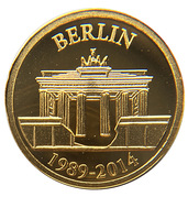 100 Francs (Fall of the Berlin Wall) – reverse