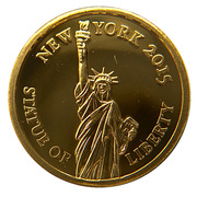 100 Francs (Statue of Liberty) – reverse