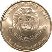 5000 Francs (African Lion) – obverse