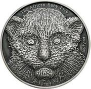 5000 Francs (Leopard) – reverse