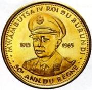 25 Francs - Mwambutsa IV (50th Anniversary) – obverse