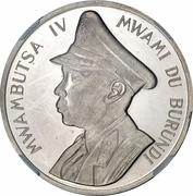 5 Francs - Mwambutsa IV (Independence) – obverse