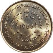 10 Francs (FAO) – obverse