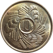 10 Francs (FAO) – reverse