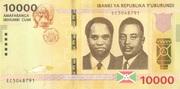 10000 Francs -  obverse