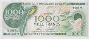 1000 Francs Type 1977 – obverse