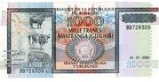 1000 Francs -  obverse