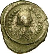5 Nummi - Justinianus I (Constantinopolis mint) – obverse
