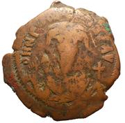 40 Nummi - Phocas (Constantinopolis) – obverse