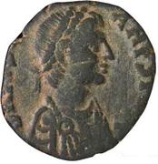 20 Nummi - Justinian I (Antioch) – obverse