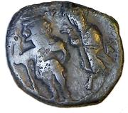 40 Nummi - Heraclius (Constantinopolis) – obverse