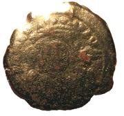 20 Nummi - Justinian I (Antioch; broken P type) – obverse