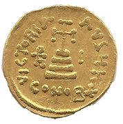 Solidus - Heraclius, Heraclius Constantine and Heraclonas (VICTORIA AVGU; Constantinopolis) -  reverse