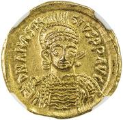 Solidus - Anastasius I. – obverse