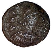 5 Nummi - Justin II (Ravenna) – obverse