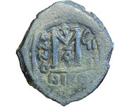 40 Nummi - Mauricius Tiberius (Nicomedia) – reverse