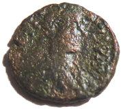 Pentanummium Justin Ier 518-522 (atelier de Constantinople) – obverse