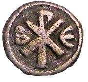 Pentanummium - Justin I (Constantinople) – reverse