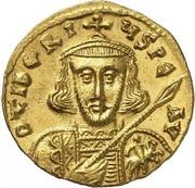 Solidus - Tiberius III (VICTORIA AVGV; Constantinopolis) – obverse