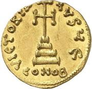 Solidus - Tiberius III (VICTORIA AVGV; Constantinopolis) – reverse