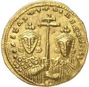 Solidus - Constantine VII and Romanos II (Constantinopolis) -  reverse