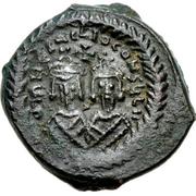 10 Nummi - Heraclius (Cyprus) – obverse