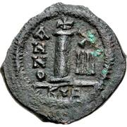 10 Nummi - Heraclius (Cyprus) – reverse