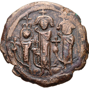40 Nummi - Heraclius (Cyprus) – obverse