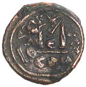 40 Nummi - Heraclius - Constantinopolis mint – reverse