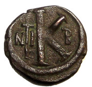 20 Nummi - justin I - Nicomedia mint – reverse