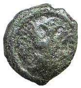 16 Nummi - Justinian I - Thessalonika mint – obverse
