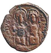 40 Nummi - Justin II and Aelia Sophia (Constantinopolis) – obverse