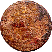 1 Pentanummium - Justinianus I – obverse