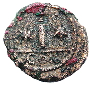 10 Nummi - Mauricius Tiberius (Constantinopolis) – reverse