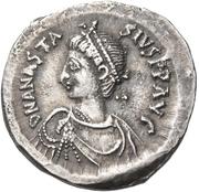 Miliarense - Anastasius I Dicorus (GLORIA ROMANORVM; Constantinopolis; Bust Left) – obverse