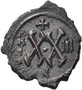 20 Nummi - Phocas and Leontia (Antioch) – reverse