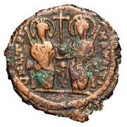 40 Nummi - Justin II and Aelia Sophia (Antioch) – obverse