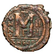 40 Nummi - Justin II and Aelia Sophia (Antioch) – reverse