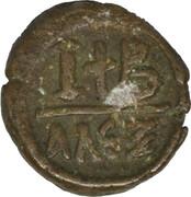 12 Nummi - Justinian I (Alexandria) – reverse
