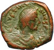 16 Nummi - Justinian I (Thessalonica; Type ☩) -  obverse