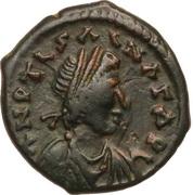 5 Nummi - Justinian I (Antioch) – obverse