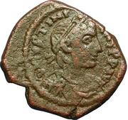 16 Nummi - Justinian I (Thessalonica; Type ✶ ☩ ✶) – obverse