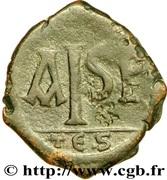 16 Nummi - Justinian I (Thessalonica; Type 'no mark') – reverse