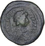 20 Nummi - Anastasius I Dicorus (Constantinopolis; no Officina Letter, Small Module) – obverse