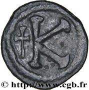 20 Nummi - Anastasius I Dicorus (Constantinopolis; no Officina Letter, Small Module) – reverse
