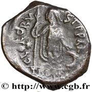Miliarense - Anastasius I Dicorus (CLO RORVST P P AR; Thessalonica) – reverse